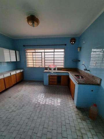 Casa térrea para locação, 4 quartos, 6 vagas - Campestre - Santo André / SP - Foto 8