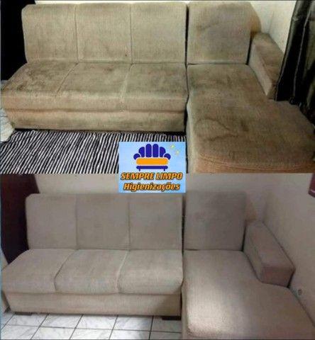 Limpeza de Estofados em geral Colchão Sofá Cadeira Carro Tapete Carpete - Foto 2