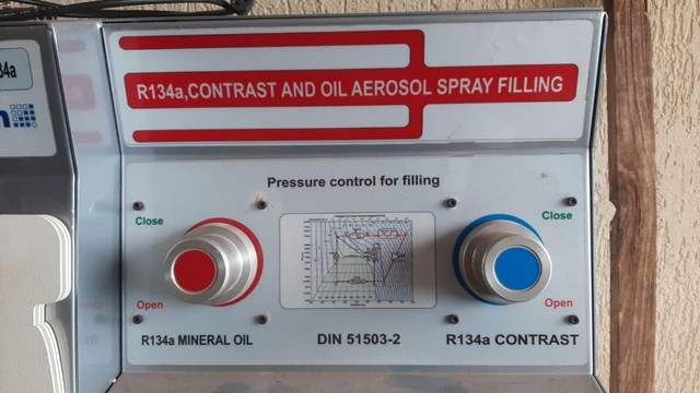 Recicladora De Fluido Refrigerante R134-a Elsawin eck twin dyh - Foto 6