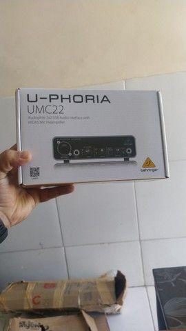 Interface Bheringer UMC22