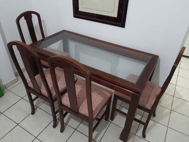 Mesa de jantar com 4 cadeiras  - Foto 4