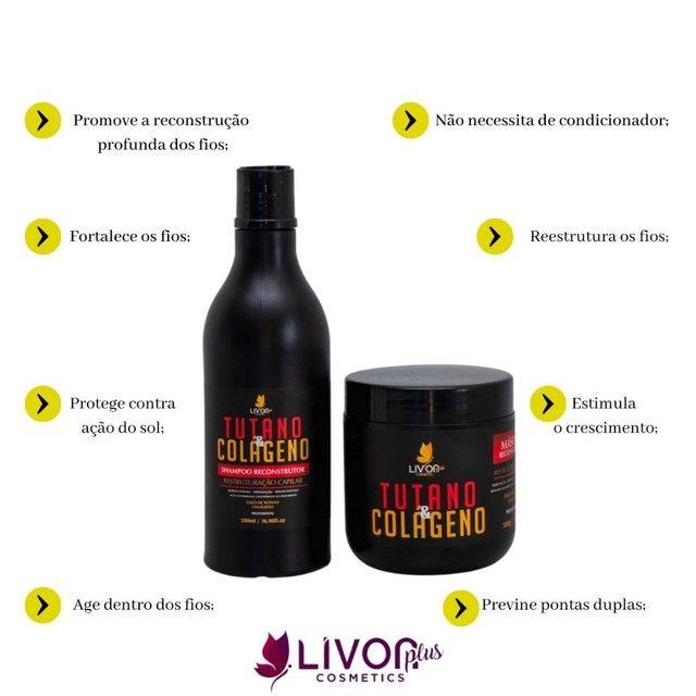 Kit Profissional para tratamento capilar Tutano e Colágeno  - Foto 2