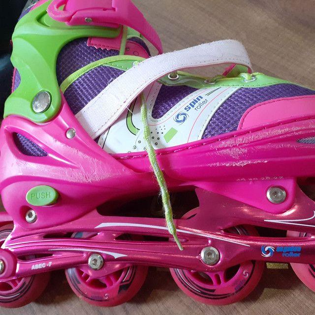 Patins Spin Roller - Foto 3
