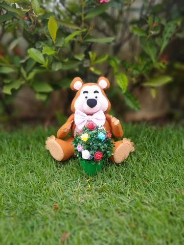 Marsha e o Urso de feltro - Foto 6