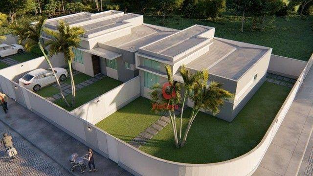 Casa Linear com 3 Quartos Sendo 1 Suíte à venda, 80 m² por R$ 280.000 - Enseada das Gaivot - Foto 14