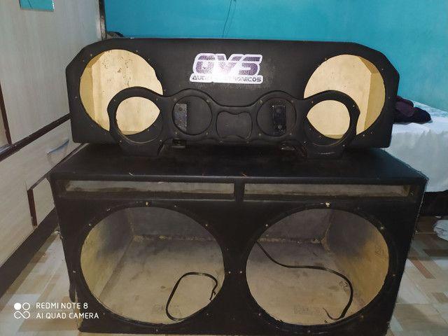 Caixa de som e fonte caseira - Foto 4
