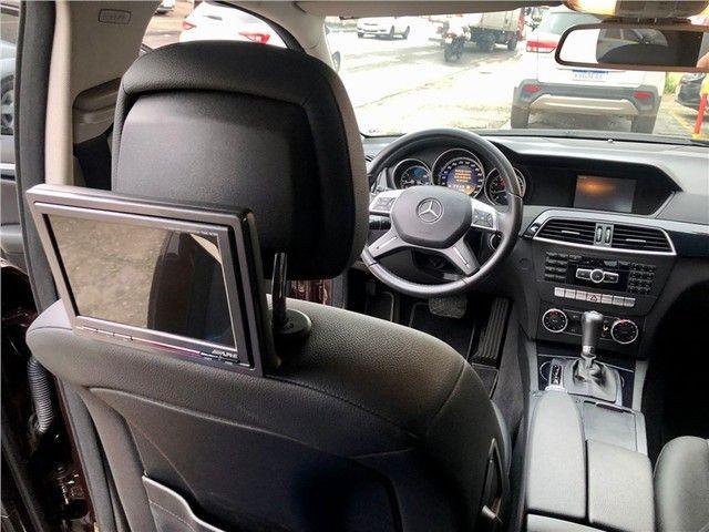 Mercedes-benz C 180 2012 1.6 cgi classic 16v turbo gasolina 4p automático - Foto 16