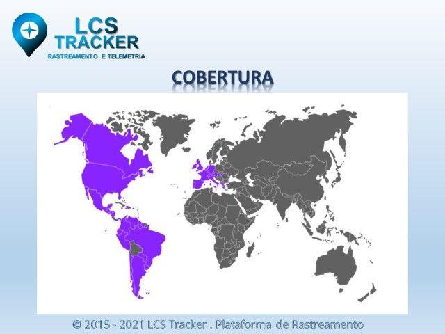 Rastreador + Sistema de Rastreamento LCS Tracker + Chip + Suporte Remoto - Foto 5