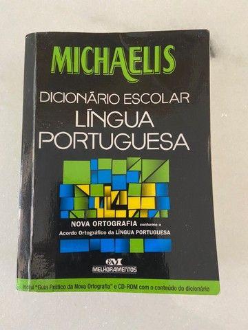 Dicionário Escolar Michaelis - Língua Portuguesa - Foto 2