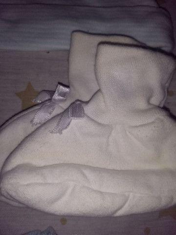 Meias, sapatinhos, luvas e chapéus R$10 - Foto 3