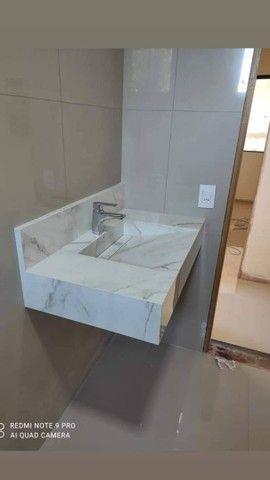 Cubas de banheiro, nichos e cozinhas planejadas em porcelanato - Foto 4