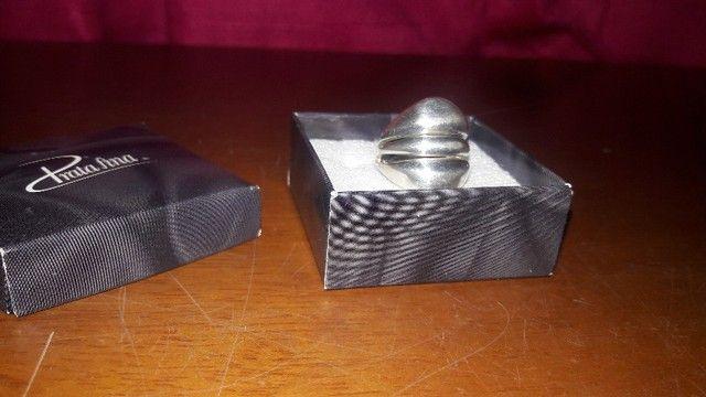Ler descrição + Anéis Prata 925-950 da Prata Fina e Bruna Tessaro - Foto 3