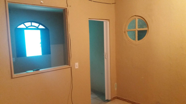 Alugo casa no alto da serra de 1 quarto, sala cozinha, banheiro e área - Foto 6