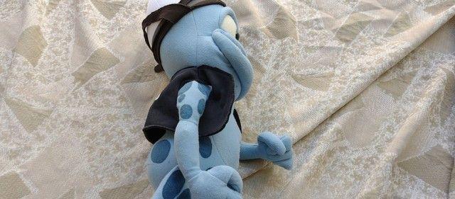 Bicho de pelúcia Sapo Crazy Frog 54cm. - Foto 5