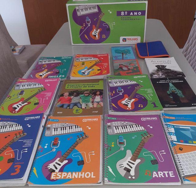 Livros sistema Trilhas 8 Ano  - Foto 3