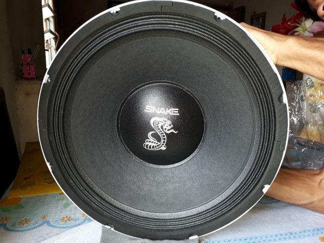 Alto falante 15 polegadas shake bass 4k 2000w rms - Foto 3