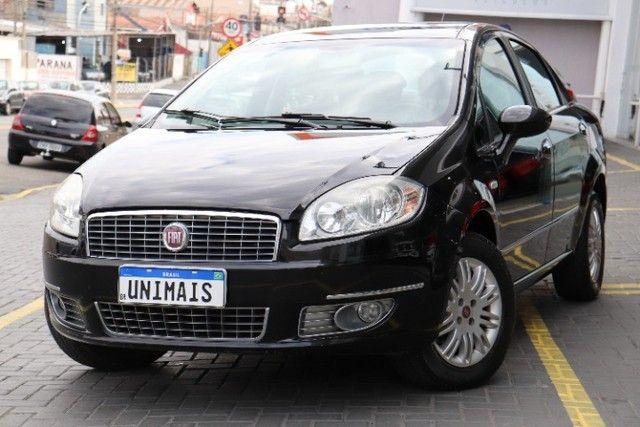 Fiat Linea 1.8 Essence flex manual 2012 preto, lindo! periciado. - Foto 3