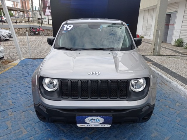 Jeep Renegade 1.8 Autom. Flex 19-19 Prata  - Foto 2