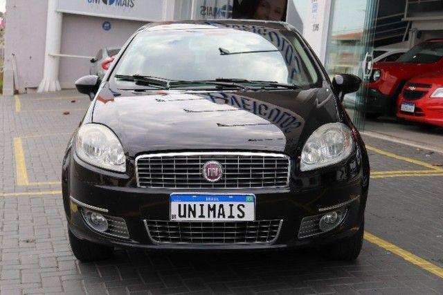 Fiat Linea 1.8 Essence flex manual 2012 preto, lindo! periciado. - Foto 5