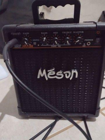 Guitarra Michael + amplificador e cabo - Foto 5