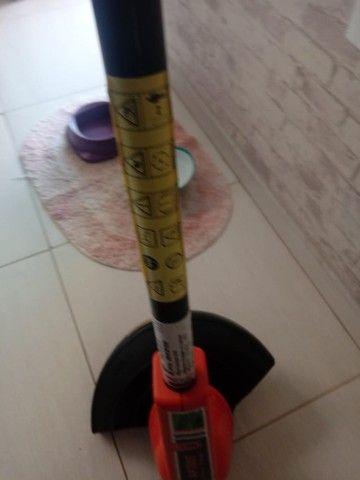 Cortador Aparador de grama troco ps2 - Foto 3
