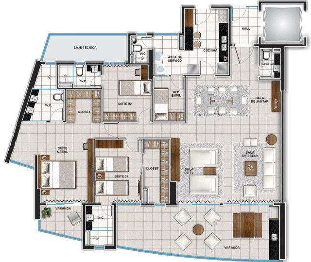 Apartamento no Saint Paul Residence - Foto 4