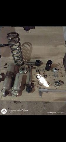Recuperação e adaptação de amortecedores de moto  - Foto 8