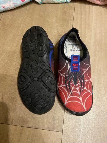 Sapato tênis confort flex infantil MZ - Foto 2