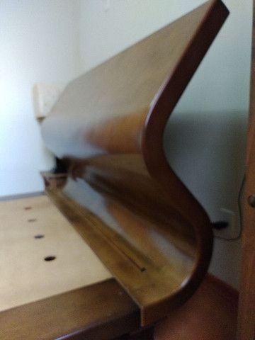 Cama Queen Castor de madeira  - Foto 2