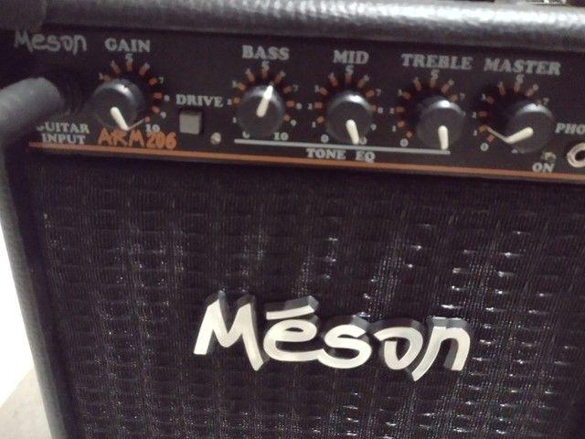 Guitarra Michael + amplificador e cabo - Foto 4