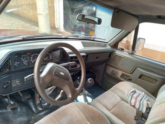 Ford F1000 XLT motor x10 mwm - Foto 3