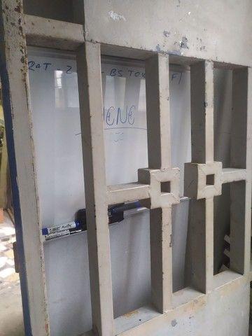 Portão de ferro 2.31x76 (REFORÇADO 5cm o Metalon) - Foto 3