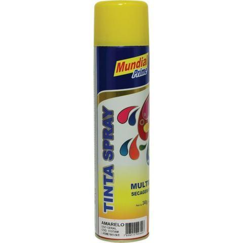 Spray Amarelo Liso 400ml Mundial Prime