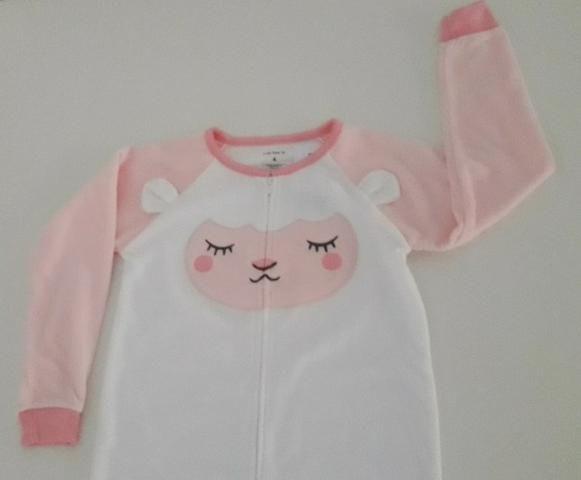 9588cef2ea0db0 Sleepwear, Macacao Para Dormir Da Carter`s, 4 Anos