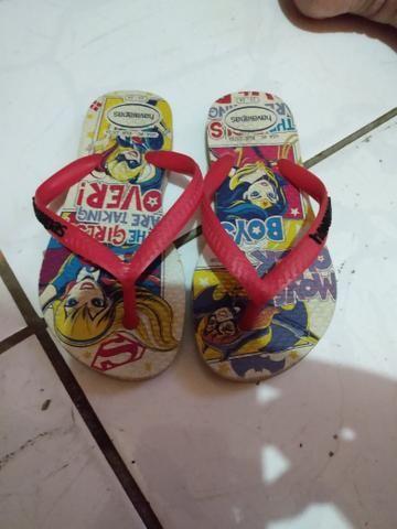 Roupas para menina de 2 anos e sandalias - Foto 6