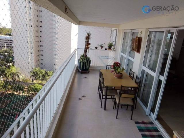 Apartamento com 3 dormitórios à venda, 142 m² por r$ 720.000 - jardim das indústrias - são