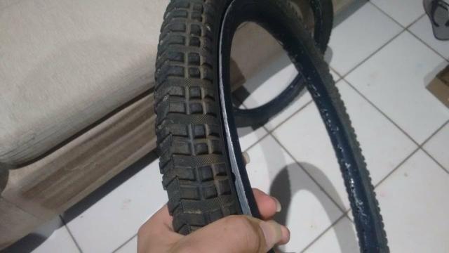 2 pneus com aro 16