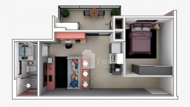 Studio com 1 dormitório no centro - são josé dos pinhais/pr - Foto 19