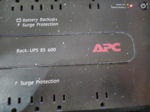 Nobreak Apc Backup-Ups Es600 600va sem bateria Aceito Cartão!
