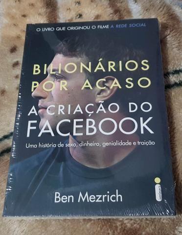 Livro bilionários por acaso a criação do **ben mezrich