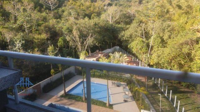 De frente para área verde de preservação, apartamento 3 dormitórios (1ste) 90m², 2 vagas l