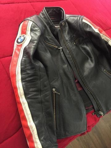 Jaqueta BMW Motorrad Feminina em Couro M