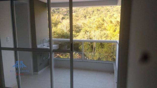 De frente para área verde de preservação, apartamento 3 dormitórios (1ste) 90m², 2 vagas l - Foto 3