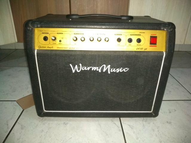 Amplificador 60W warm music aceito visa e Mastercard!!