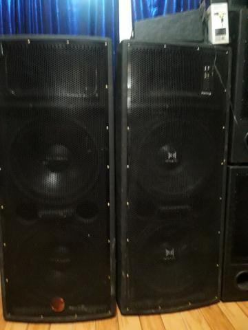 Caixa de som leac's vip 1000 plus