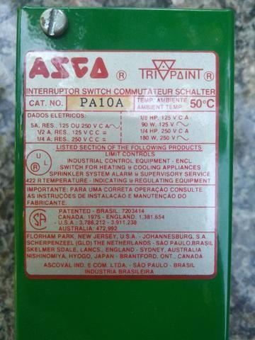 Pressostato Asco pa10a Tripoint 2.1 A 21bar compressor
