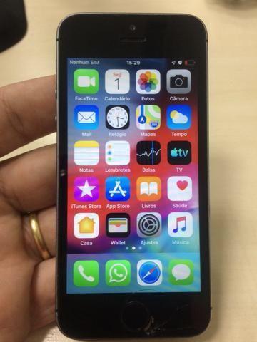 Troco IPhone 5s 16 gb