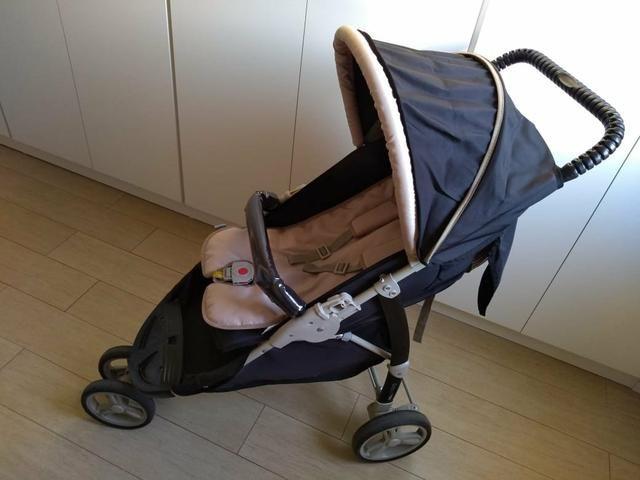Carrinho de bebê + Bebê Conforto - Foto 3