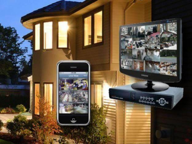 Monitore o seu lar/loja pelo telefone (direto com o técnico)