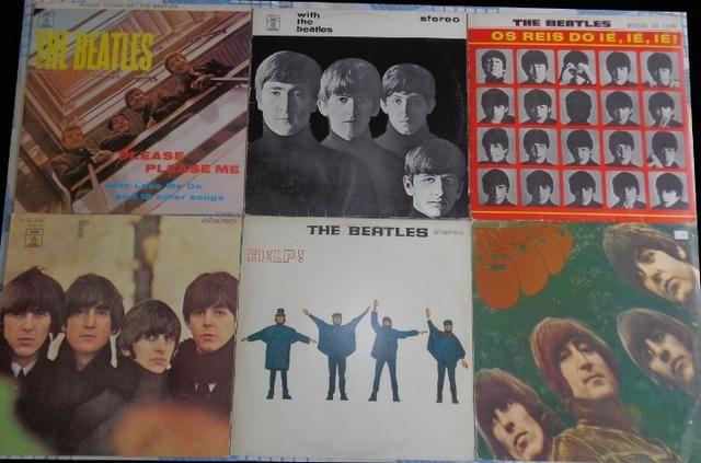 LPs Beatles - Os 6 Primeiros